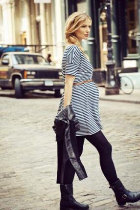 فستان حمل مع حزام