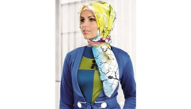 الحجاب الطويل