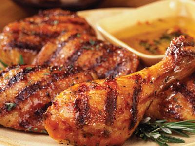 الدجاج المشوي